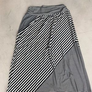 Maurices grey and navy maxi skirt